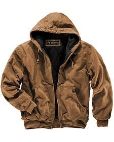 Dri Duck Men's Cheyenne Hooded Work Jacket - Big Sizes (3XL - 4XL)