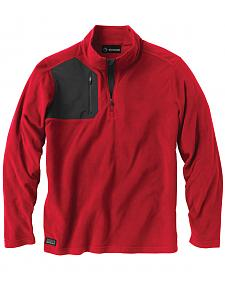 Dri Duck Men's Interval Quarter-Zip Fleece