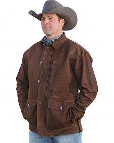 Cinch Men's Brown Canvas Ranch Coat