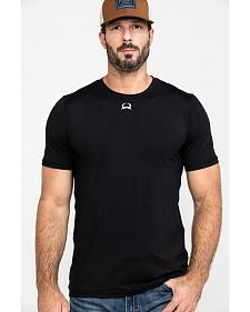 Cinch Men's Black Athletic Under Shirt