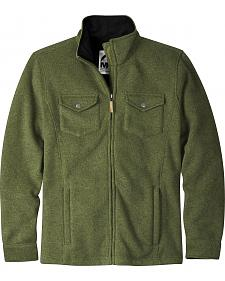 Mountain Khakis Men's Green Old Faithful Sweater