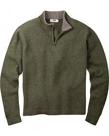 Mountain Khakis Men's Mossy Green Lodge Crewneck Sweater