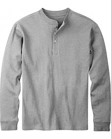 Mountain Khakis Men's Heather Grey Trapper Henley Shirt