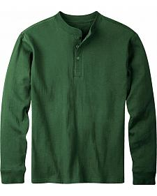Mountain Khakis Men's Hunter Green Trapper Henley Shirt
