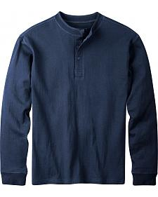 Mountain Khakis Men's Navy Trapper Henley Shirt