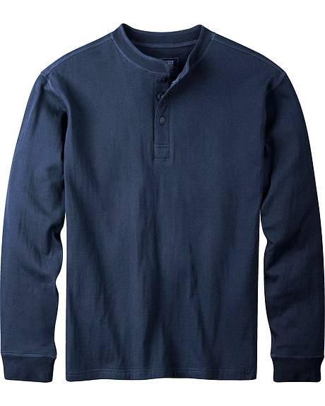 Mountain Khakis Men's Navy Trapper Henley Shirt
