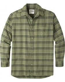 Mountain Khakis Men's Olive Drab Peden Plaid Shirt