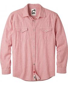 Mountain Khakis Men's Red Railroad Original Mountain Denim Shirt