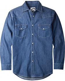 Mountain Khakis Men's Dark Indigo Original Mountain Denim Shirt