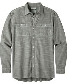 Mountain Khakis Men's Olive Chambray Long Sleeve Shirt