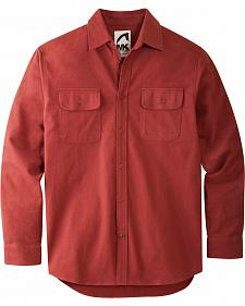 Mountain Khakis Men's Oxblood Ranger Chamois Shirt