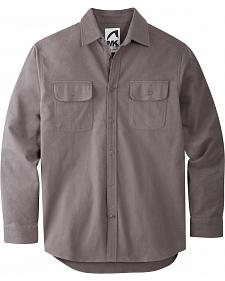 Mountain Khakis Men's Castlerock Grey Ranger Chamois Shirt