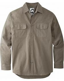 Mountain Khakis Men's Dark Olive Ranger Chamois Shirt