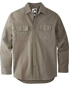 Mountain Khakis Men's Dark Olive Ranger Chamois Shirt