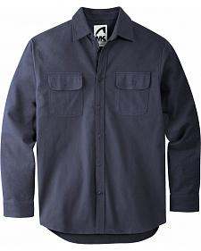 Mountain Khakis Men's Navy Ranger Chamois Shirt