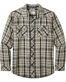 Mountain Khakis Men's Black Plaid Rodeo Long Sleeve Shirt