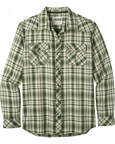Mountain Khakis Men's Olive Plaid Rodeo Long Sleeve Shirt
