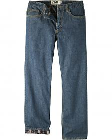 Mountain Khakis Men's Original Mountain Flannel Lined Jeans