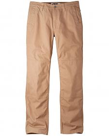 Mountain Khakis Men's Yellowstone Tan Alpine Utility Pants - Relaxed Fit