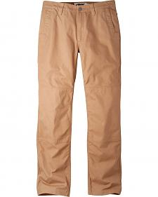 Mountain Khakis Men's Yellowstone Tan Alpine Utility Pants - Slim Fit