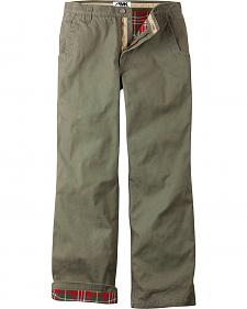 Mountain Khakis Men's Original Mountain Flannel Lined Relaxed Fit Pants