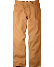 Mountain Khakis Men's Brown Original Slim Fit Pants