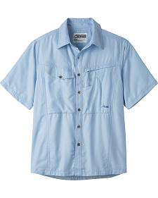 Mountain Khakis Men's Morning Sky Trail Creek Short Sleeve Shirt