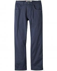 Mountain Khakis Men's Navy Camber Commuter Pants - Slim Fit