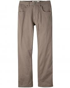 Mountain Khakis Men's Light Brown Camber Commuter Pants - Slim Fit