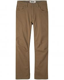 Mountain Khakis Men's Brown Camber 106 Pants