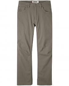 Mountain Khakis Men's Light Brown Camber 106 Pants