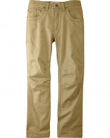 Mountain Khakis Men's Tan Camber 105 Classic Fit Pants