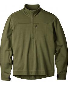 Mountain Khakis Men's Rendezvous Quarter-Zip Shirt