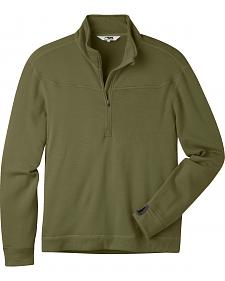 Mountain Khakis Men's Rendezvous Micro Quarter-Zip Shirt