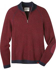 Mountain Khakis Men's Malbec Fleck Quarter Zip Sweater