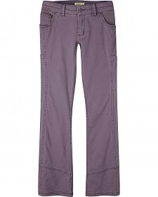 Mountain Khakis Women's Nine Iron Purple Classic Fit Ambit Pants