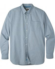 Mountain Khakis Men's Blue Marlin Uptown Tattersall Shirt