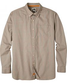 Mountain Khakis Men's Cantaloupe Uptown Tattersall Shirt