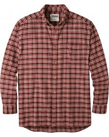 Mountain Khakis Men's Malbec Downtown Flannel Shirt