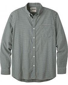 Mountain Khakis Men's Green Zest Spalding Gingham Long Sleeve Shirt