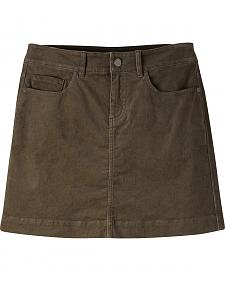 Mountain Khakis Women's Canyon Cord Slim Fit Skirt