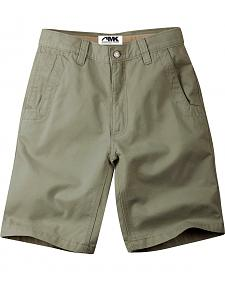 Mountain Khakis Men's Olive Teton Relaxed Fit Shorts