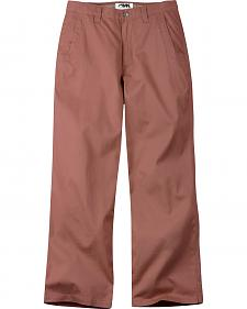 Mountain Khakis Men's Red Lake Lodge Relaxed Fit Twill Pants