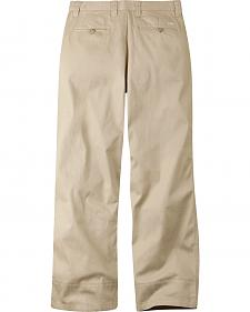 Mountain Khakis Men's Tan Lake Lodge Relaxed Fit Twill Pants