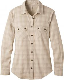 Mountain Khakis Women's Cream Peaks Flannel Shirt