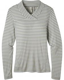 Mountain Khakis Women's Rendezvous Micro Wrap Neck Stripe Shirt