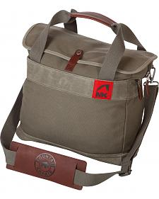 Mountain Khaki Olive Canvas Briefcase