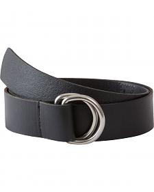 Mountain Khakis Men's Black D-Ring Belt