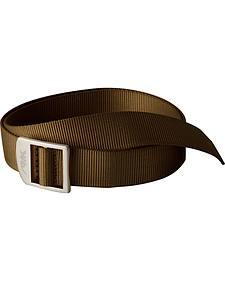 Mountain Khakis Brown Webbing Belt