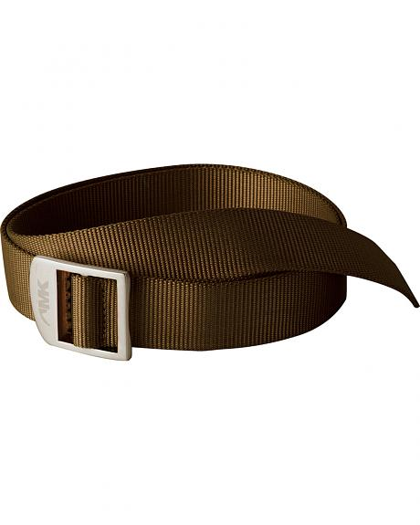 Mountain Khakis Brown Webbing Belt